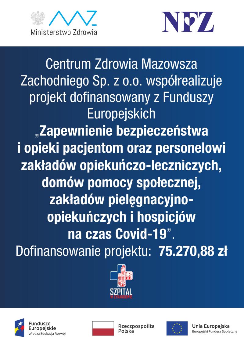 Dofinansowanie Projektu z Funduszy Europejskich